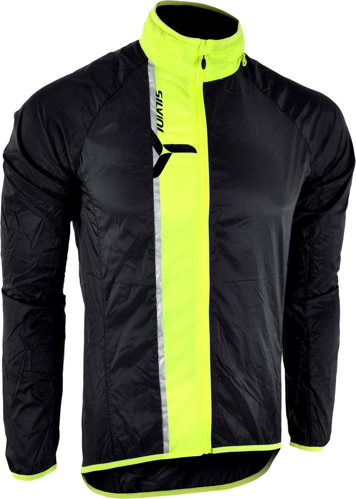 pánská bunda na kolo Gela black, neon
