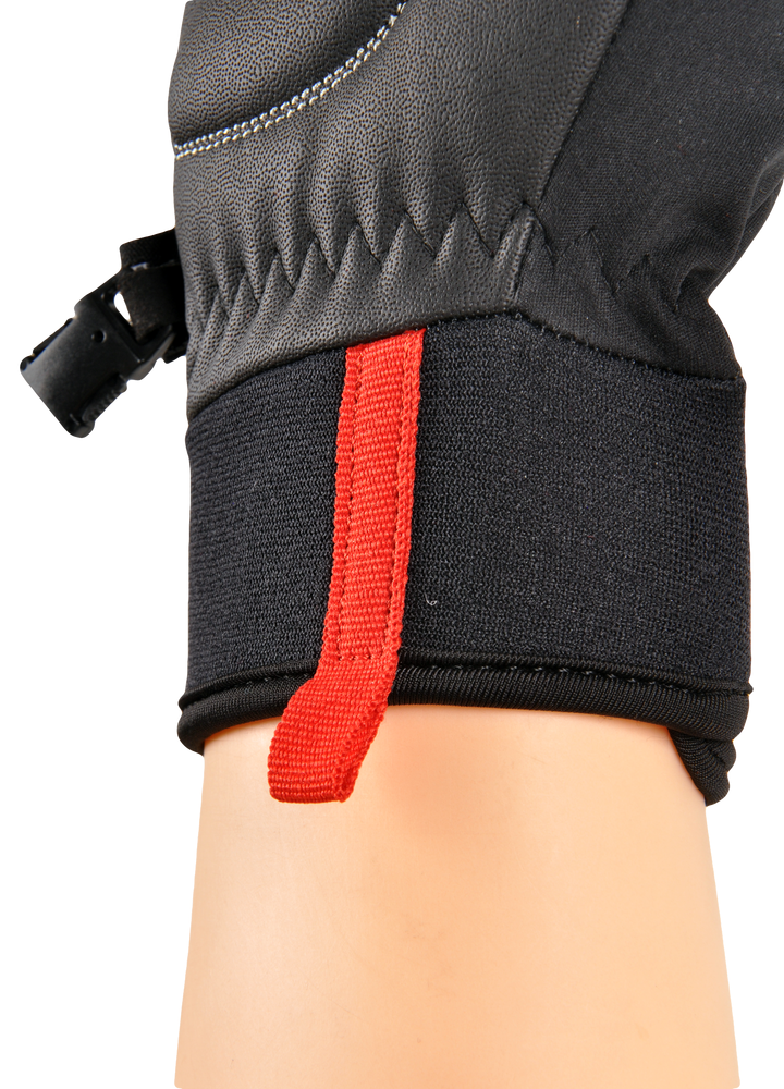 softshellové rukavice SILVINI Fusaro,XL černá