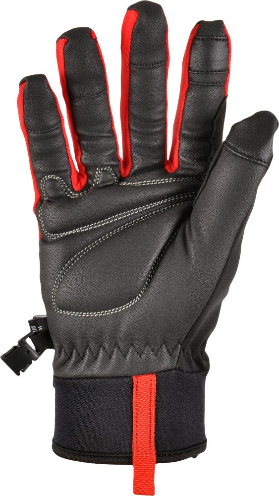 softshellové rukavice SILVINI Fusaro,M černá