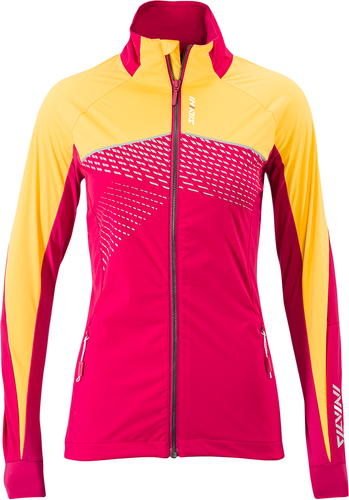 Dámská softshellová bunda Silvini Serrone WJ1501 punch/yellow